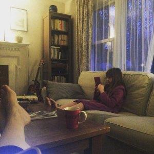 quiet Coffee Reading time