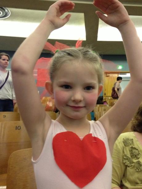 Kate's first ballet recital